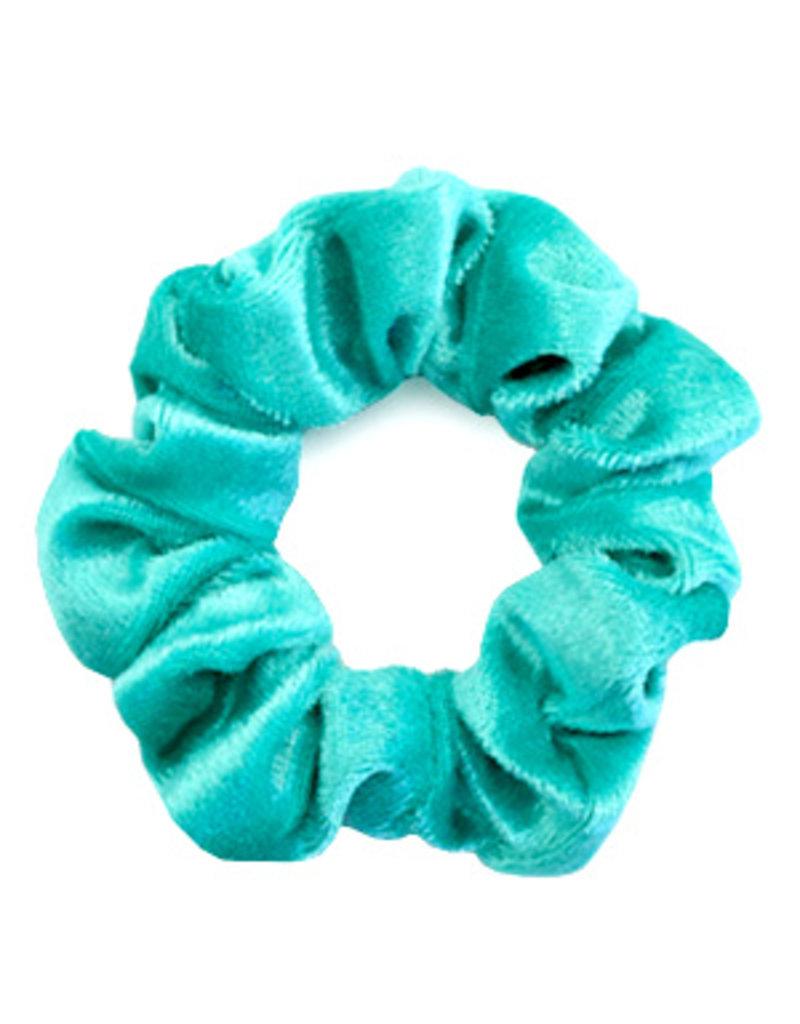 Velvet scrunchie - Aqua