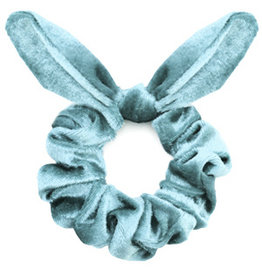 Strik scrunchie - Baby blue