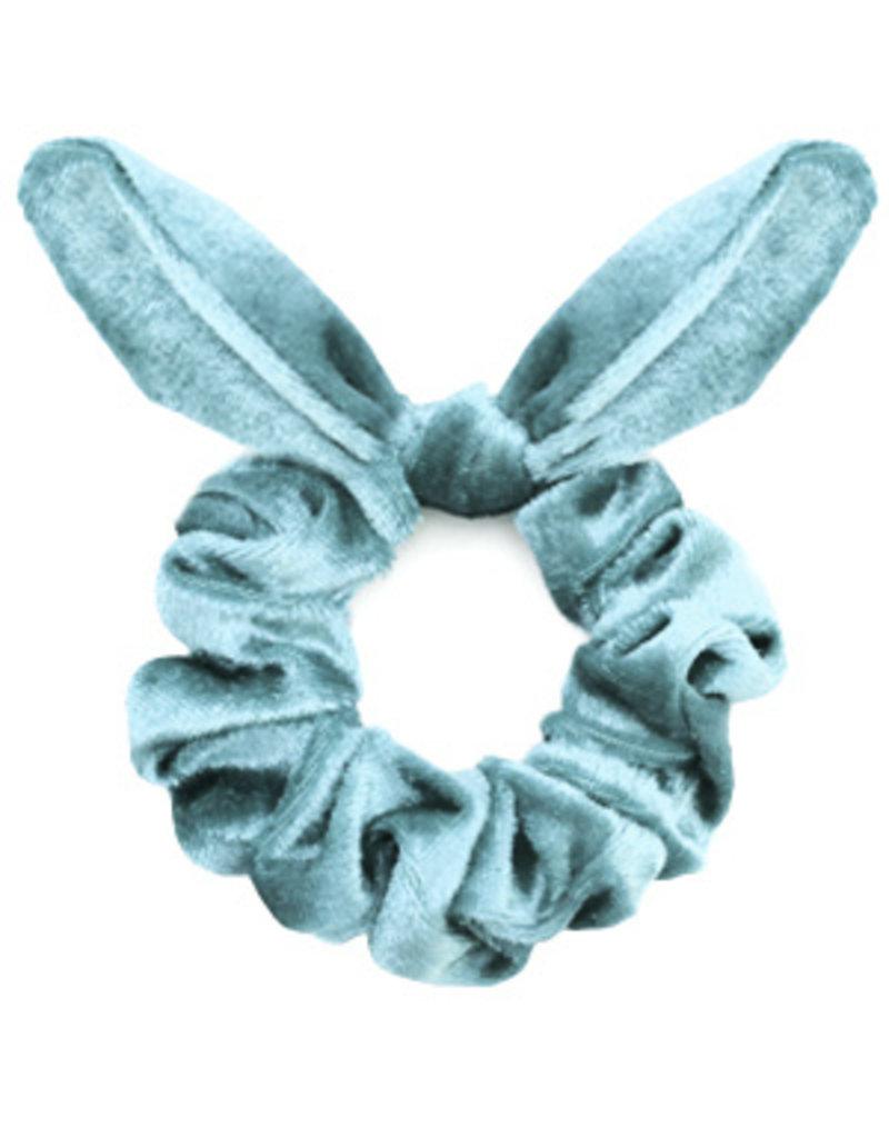 Strik scrunchie - Baby blue