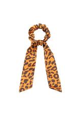 Scarf scrunchie - Luipaard