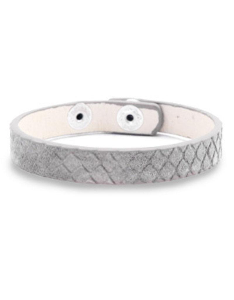 Armband - Grey snake