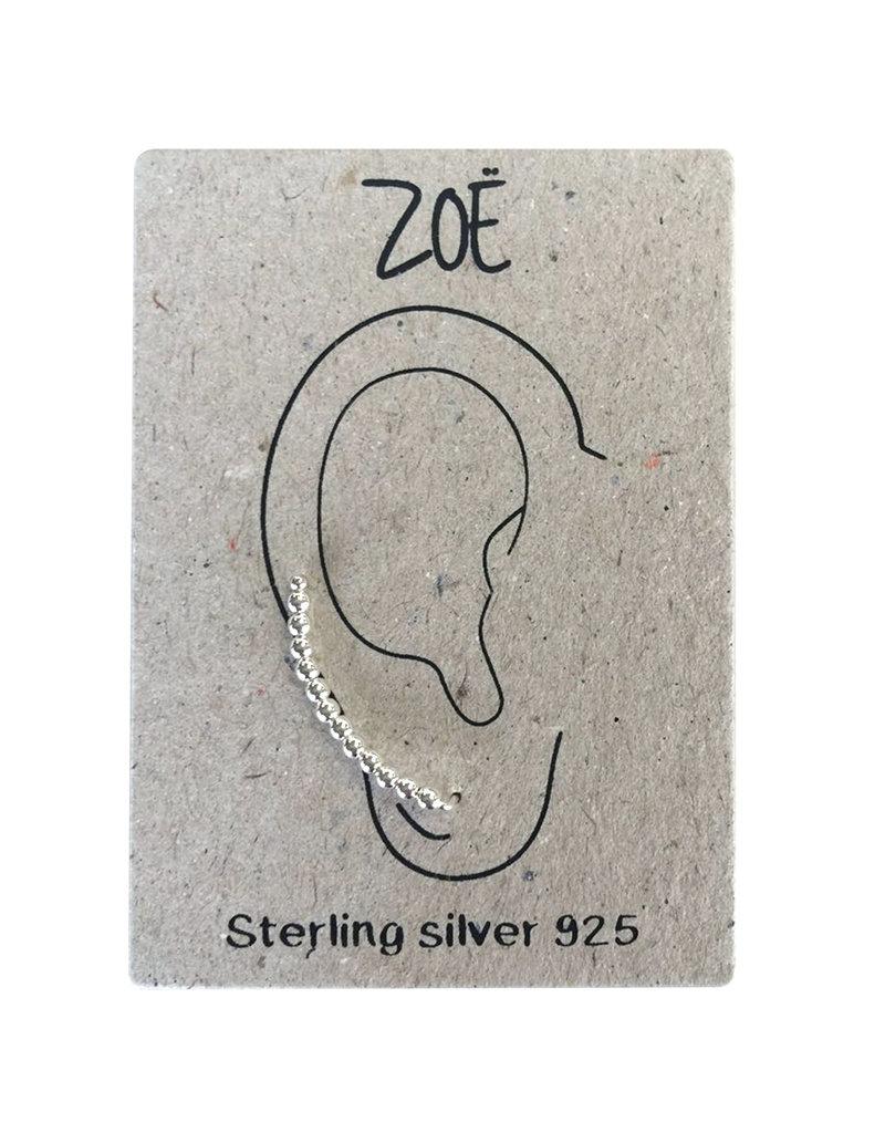 Zoë Earlines - Bolletjes (925 silver)