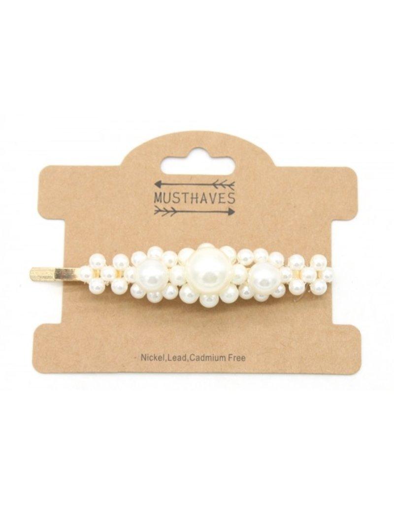 Schuifspeldjes - Flower pearls