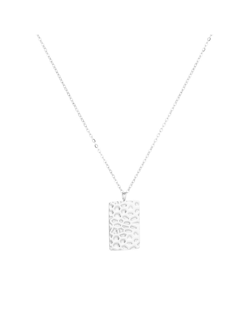 Ketting - Silver leopard