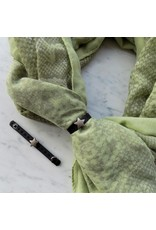 Sjaal - Green snake