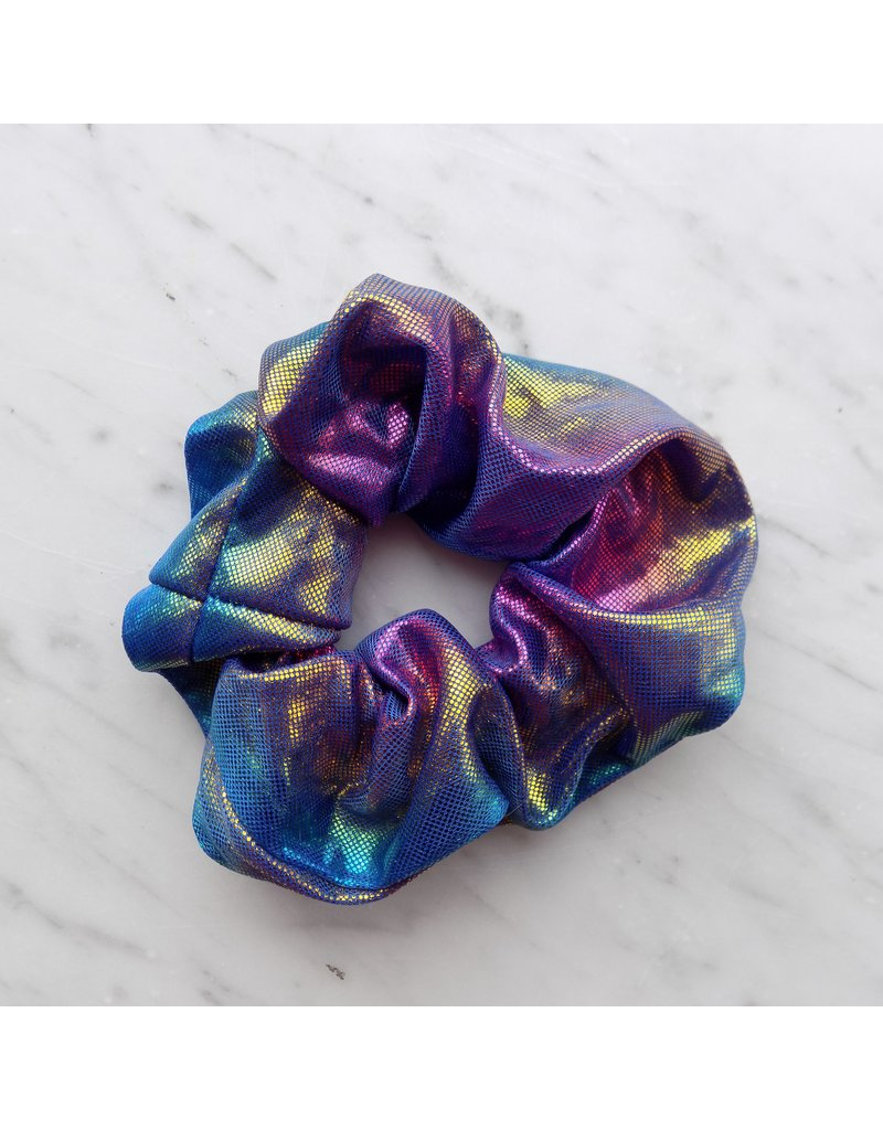 Metallic scrunchie - Unicorn