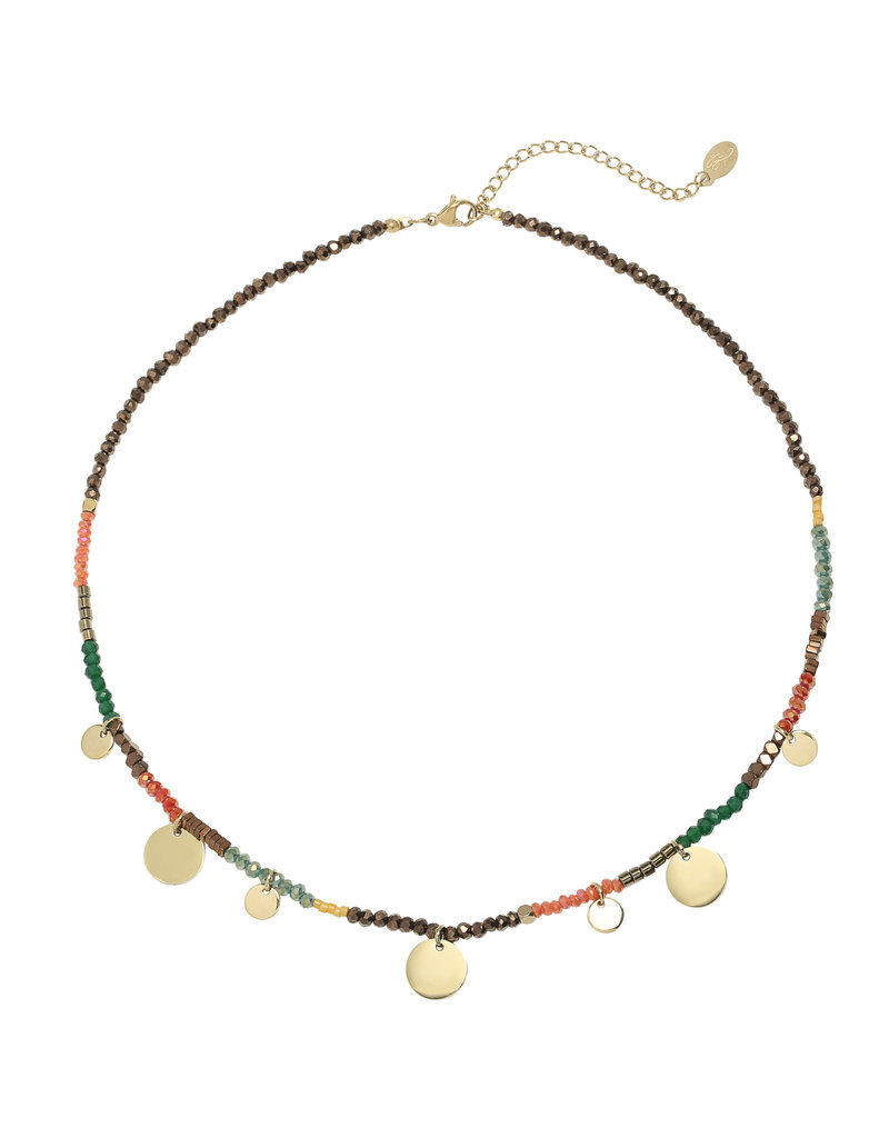 Ketting - Sunset coins