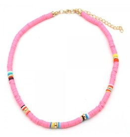 Surf ketting - Pink