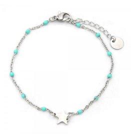 Armband - Turquoise star