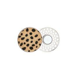 Sjaal magneet - Brown leopard