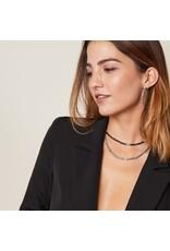 Ketting - Black beads
