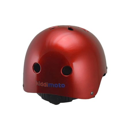 Kiddimoto Kinderhelm Metallic Red Small