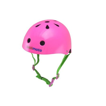 Kiddimoto Kinderhelm Neon Pink Medium