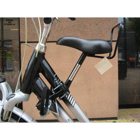 Zadel op Stang Model Nr. 3 voor oversized damesfiets met aluminium dubbele stang