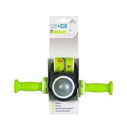 Qibbel Toybar met handvatten - groen