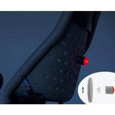 Yepp Achterlicht Delight No.1 voor de Maxi - magnetisch - knipperstand - USB oplaadbaar - Zwart