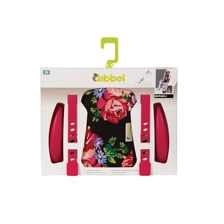 Qibbel Stylingset Luxe Voorzitje Blossom Roses Black