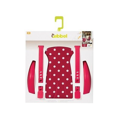 Qibbel Stylingset Luxe Achterzitje Polka Dot Red