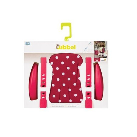 Qibbel Stylingset Luxe Voorzitje Polka Dot Red