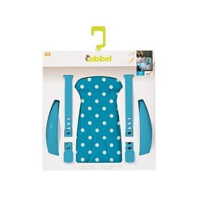 Qibbel Stylingset Luxe Achterzitje Polka Dot Blauw