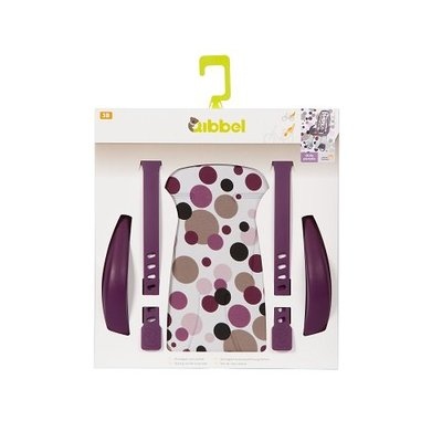 Qibbel Stylingset Luxe Achterzitje Dots Purple