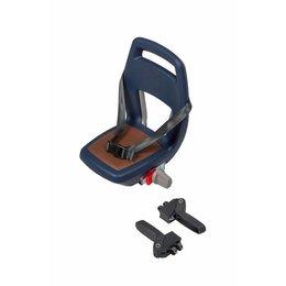 Qibbel 6+ Junior seat compleet - Blauw-bruin