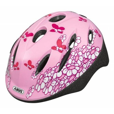 ABUS Kinderhelm Smooty Pink Butterfly M