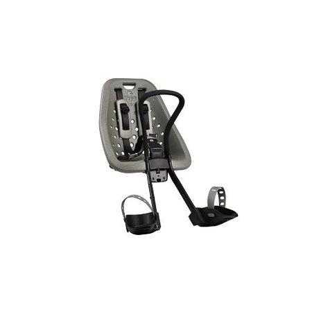 Yepp Mini Silver - fietsstoeltje vóór