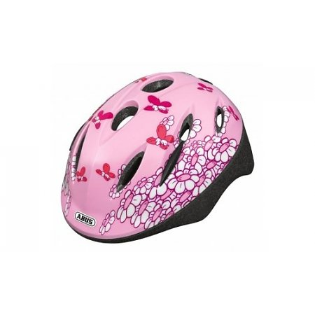 ABUS Kinderhelm Smooty Pink Butterfly S