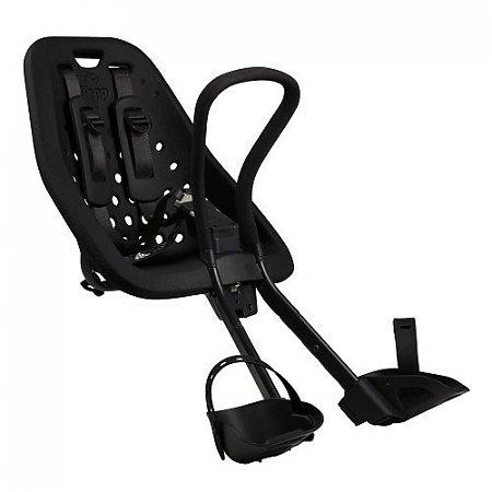 Yepp Mini Black - fietsstoeltje vóór