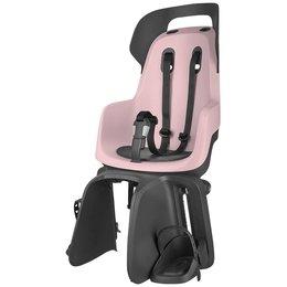 Bobike GO Achterzitje Cotton Candy Pink bagagedrager bevestiging