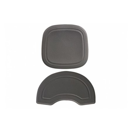 Polisport Bubbly Mini - voorzitje zwart/grijs