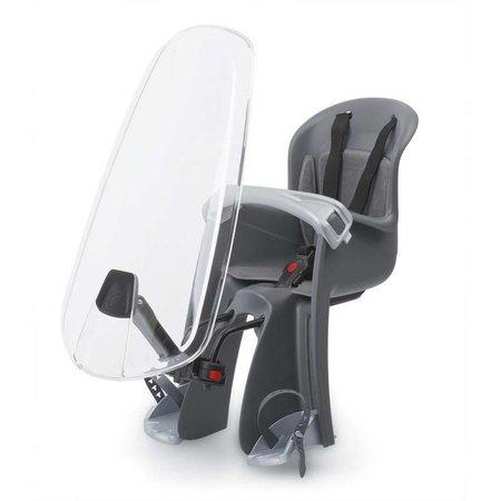 Polisport Bilby Junior Mini - voorzitje zwart/grijs met windscherm