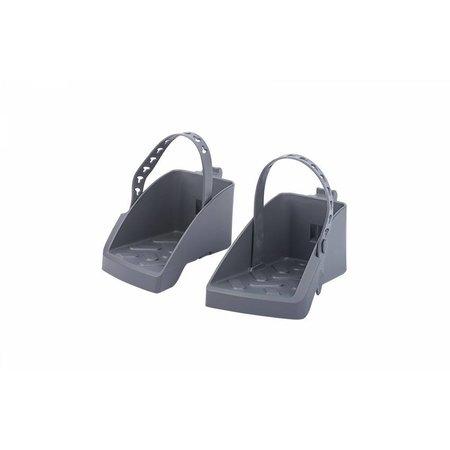 Polisport Guppy Maxi CFS dragerbevestiging zwart/donkergrijs