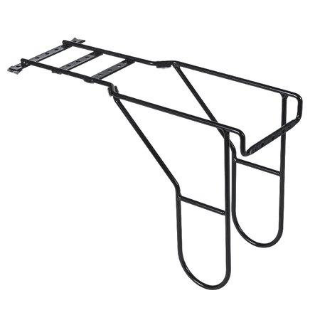 Basil Bagagedragerverlenger zwart 70180 - voor combi fietstas met achterzitje