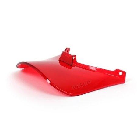 Melon Helm Vizier Vista Visor UV400 Pure Red