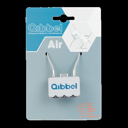 Qibbel Air Mini kabelslot met cijfercode - multifunctioneel