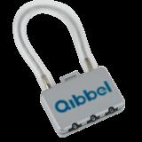 Qibbel Air Mini kabelslot met cijfercode