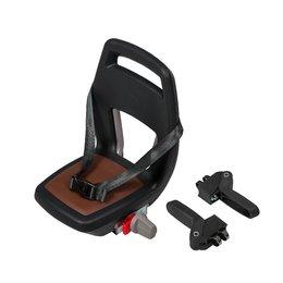 Qibbel 6+ Junior seat compleet - Zwart-bruin