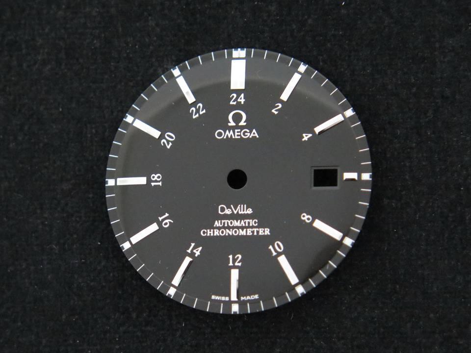 Omega Omega DeVille Black Dial