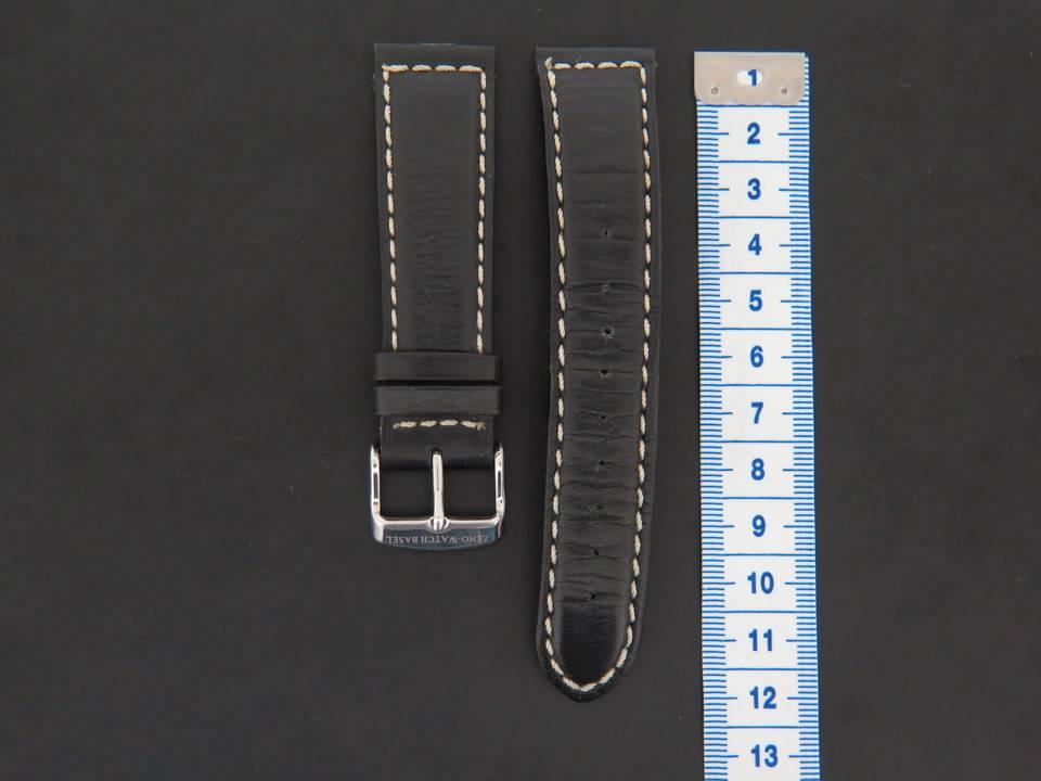 Zeno-Watch Basel Zeno-Watch Basel Calfskin Leather Strap 19 MM