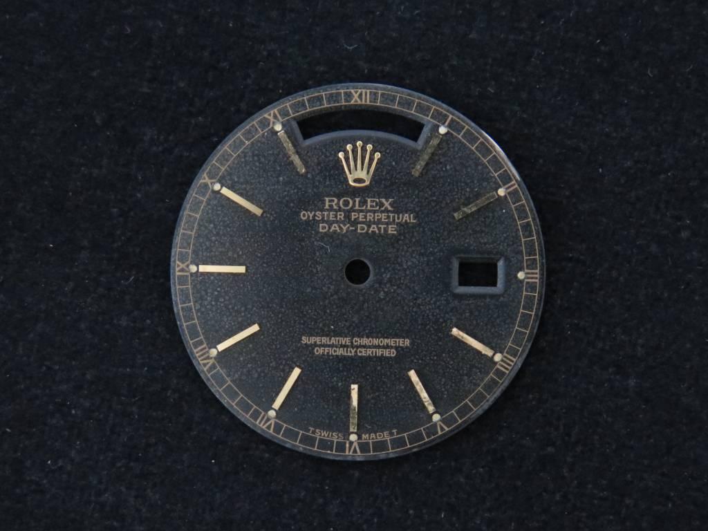Rolex  Rolex Day-Date Dial Black 18038, 18238