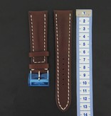 Breitling Breitling Brand new Leather Strap 24 mm + Buckle