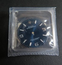 Rolex  Oyster Perpetual Dial Blue NEW 116000