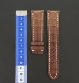 Breitling Breitling Brand new crocodile Leather Strap 24 mm NEW