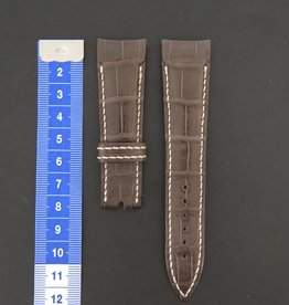 Breguet Crocodile Leather Strap  22mm NEW