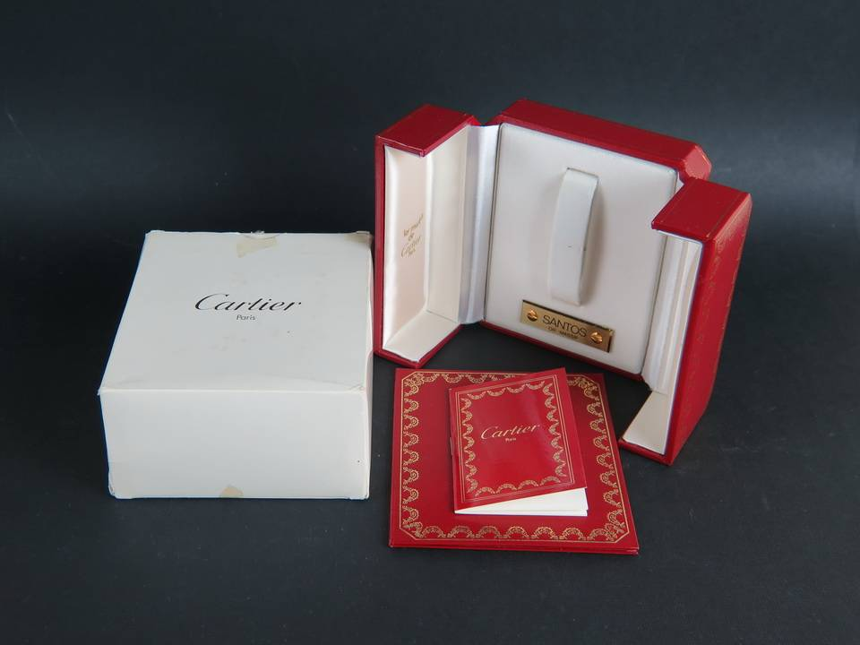 Cartier Cartier Box for 18kt gold Santos RARE