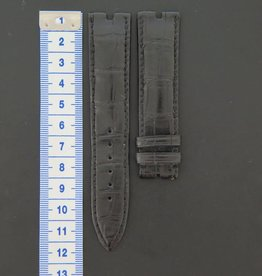 Other Brands Crocodile Leather Strap 20 mm New