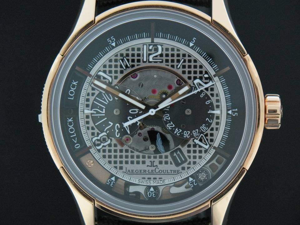 Jaeger-LeCoultre Jaeger-LeCoultre Amvox 2 Grand Chronograph Limited Edition of 200 Rose gold Aston Martin Q1972472