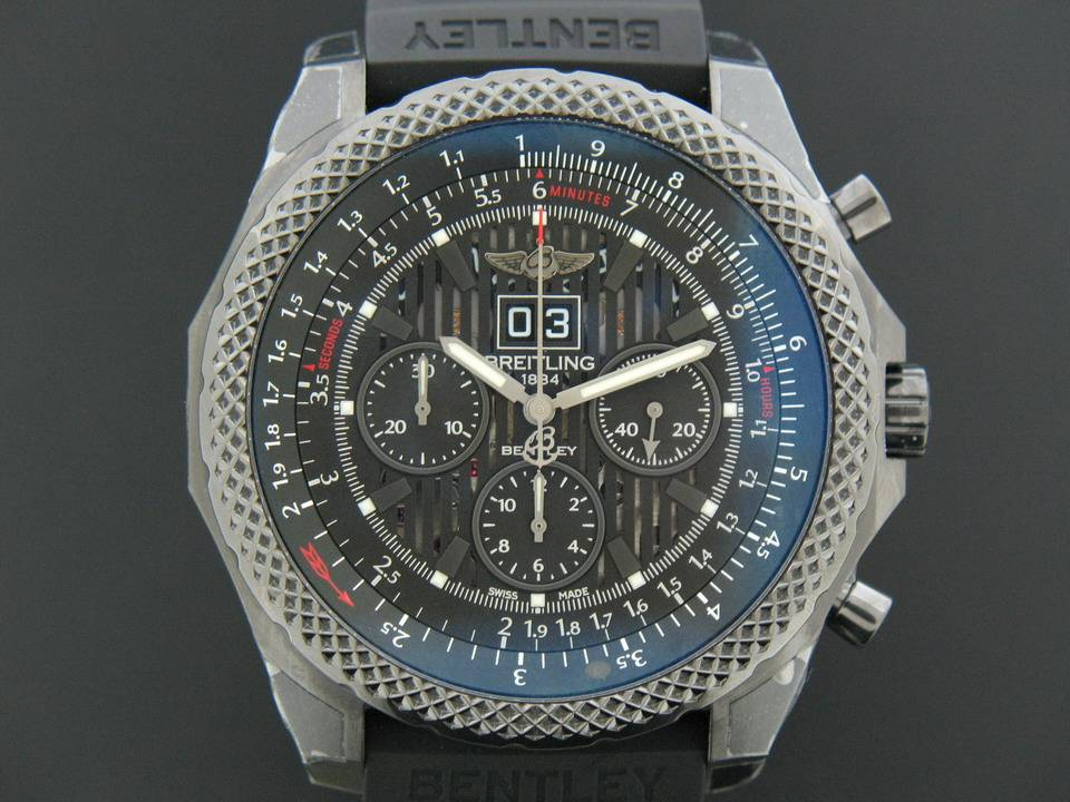 Breitling Breitling Bentley 6.75 Midnight Carbon M44364